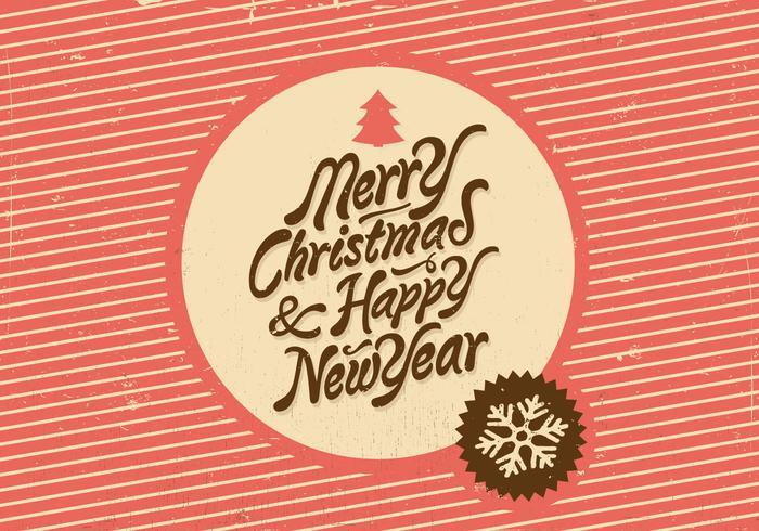Jul och nyår Vector Holiday Vector