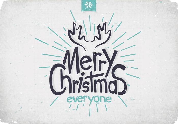 Weihnachten Geweihe Vektor
