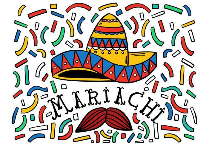 Free Mariachi Hintergrund vektor