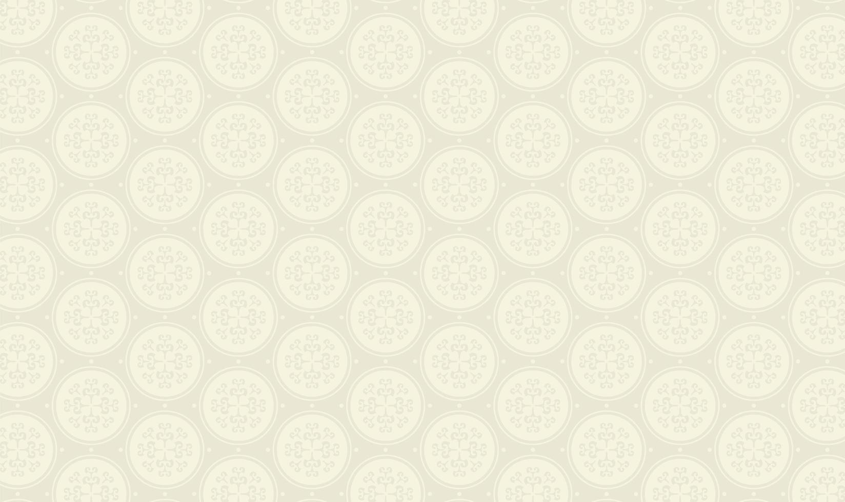 elegant cirkelmönster på grått vektor