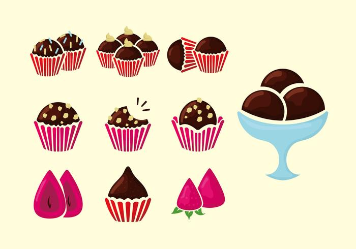 Brigade Braun Cookies Vektor-Illustration vektor