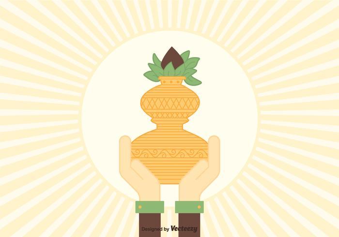 Free vector kalash illustration