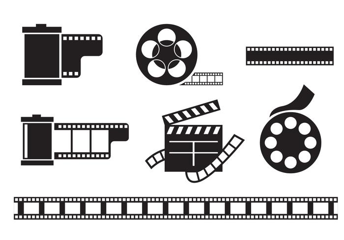 Gratis filmkanalvektor vektor