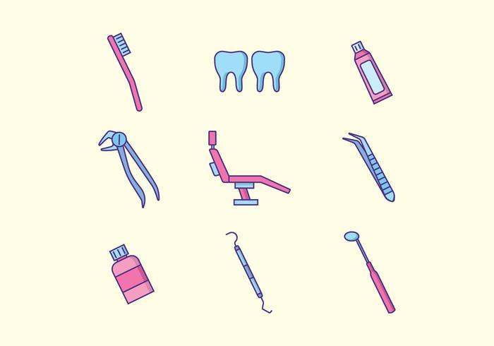 Kostenlose Zahngesundheit Vektor
