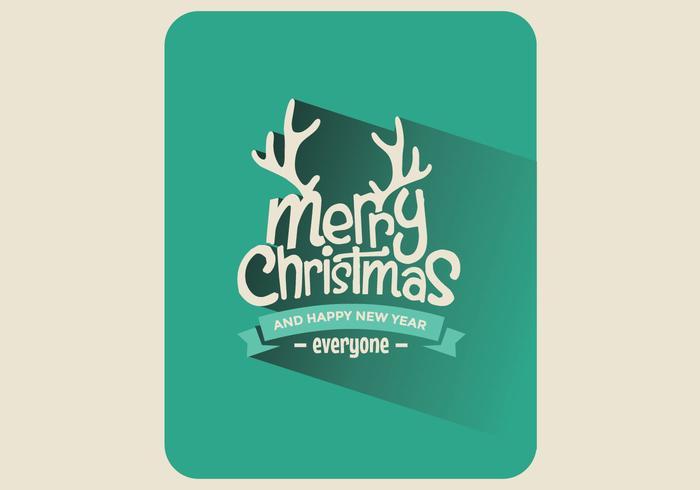 Julkort med kort vektor