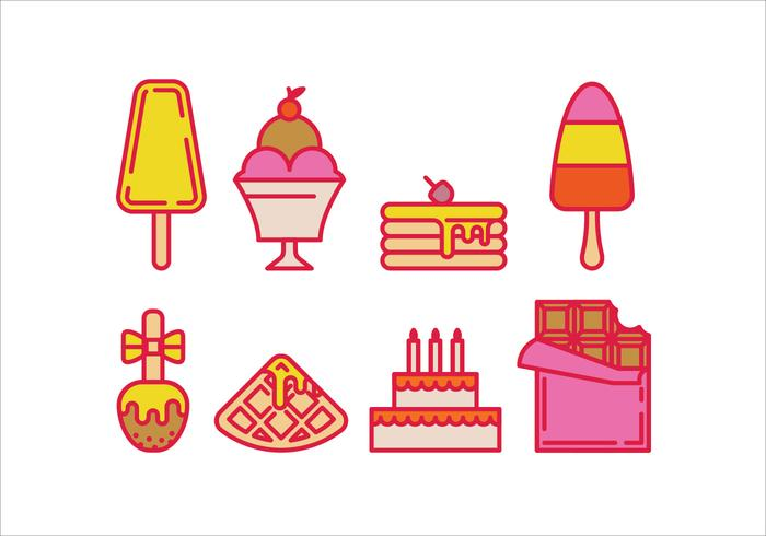 Vektor sötsaker