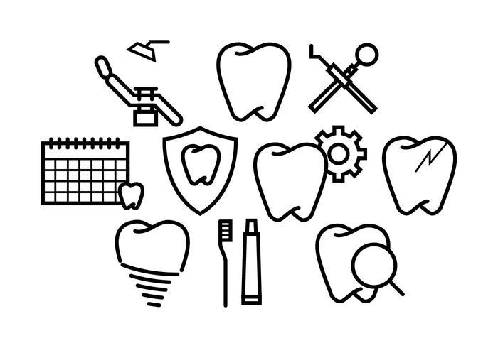 Fri Dentista Vektor