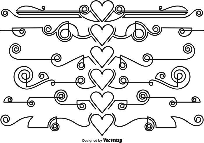Vector Ornamental Divider
