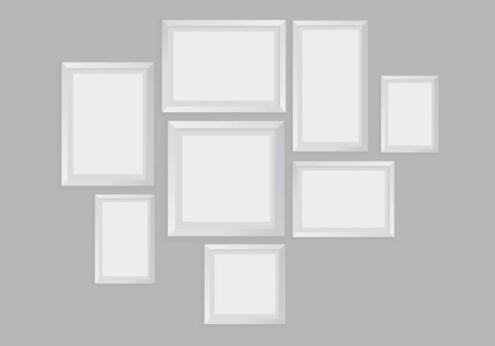 Freie Blank Rahmen Vektor