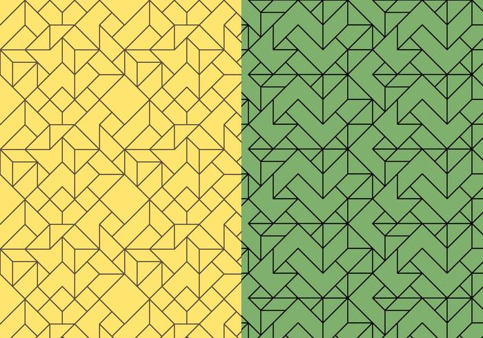 Skizziert Lineares Muster vektor