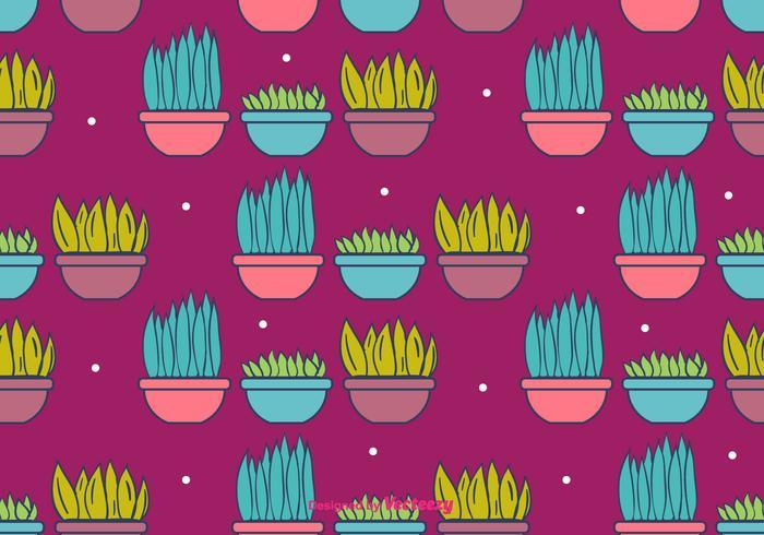 Krukväxter Bakgrund vektor