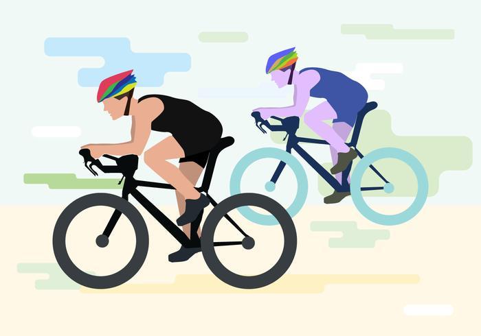 Kostenlose Bicicleta Vector Illustration