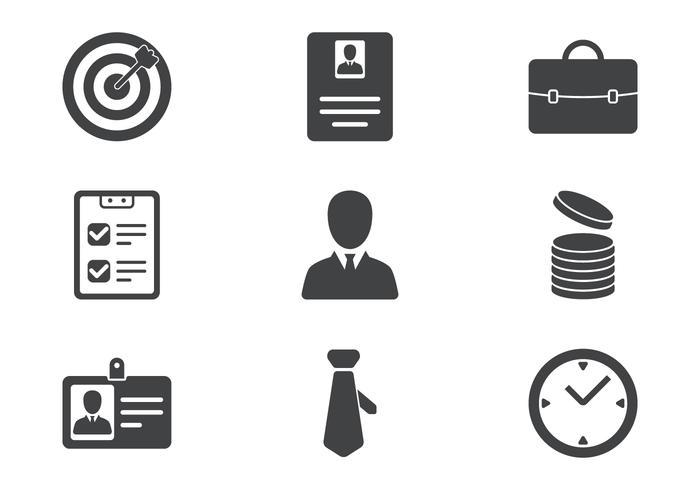 Business Icon Set vektor