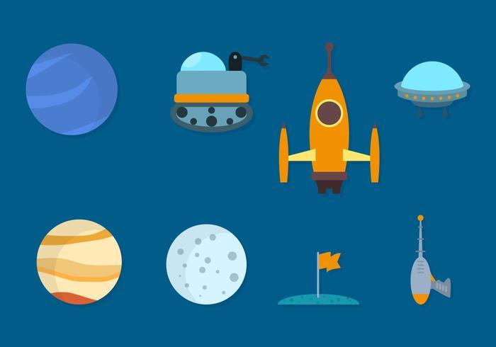 Free Space Vector Sammlung