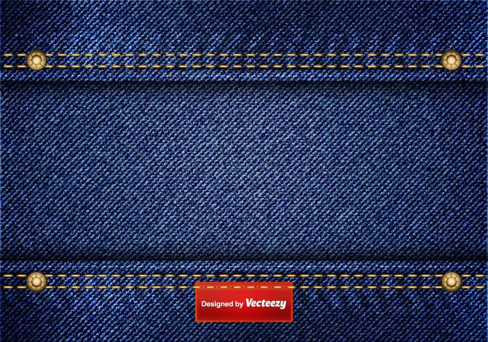 Freie blaue Jean-Vektor-Hintergrund vektor