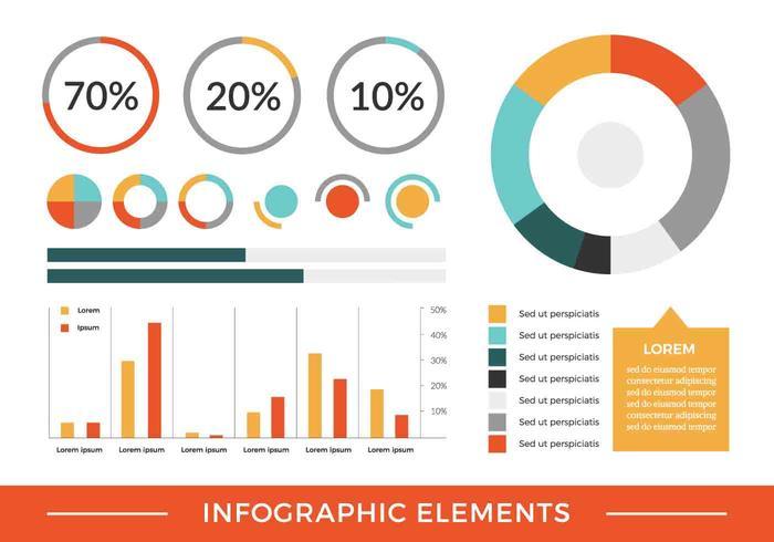 Free Vector Infographic Elemente