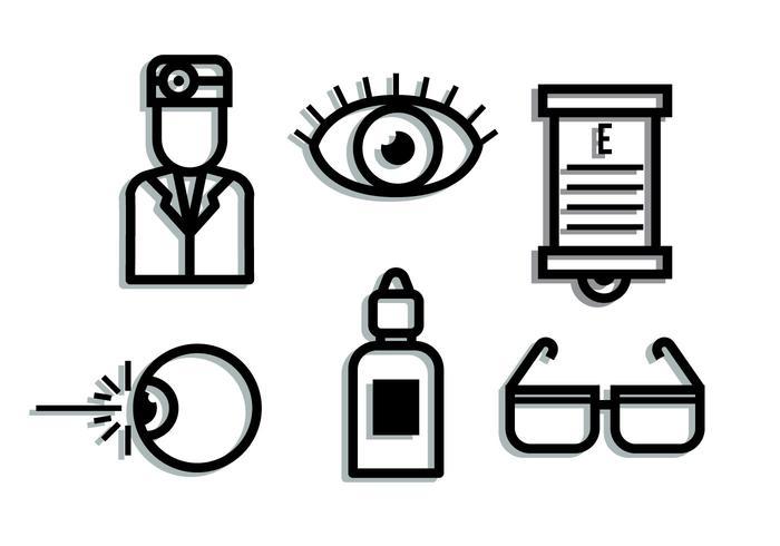 Eye Doctor Shadow Elements vektor