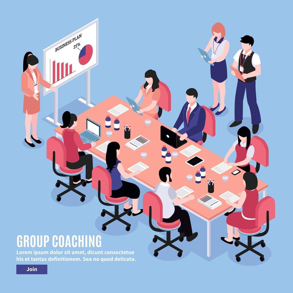 Brainstorming Meeting Konferenz Leute diskutieren vektor