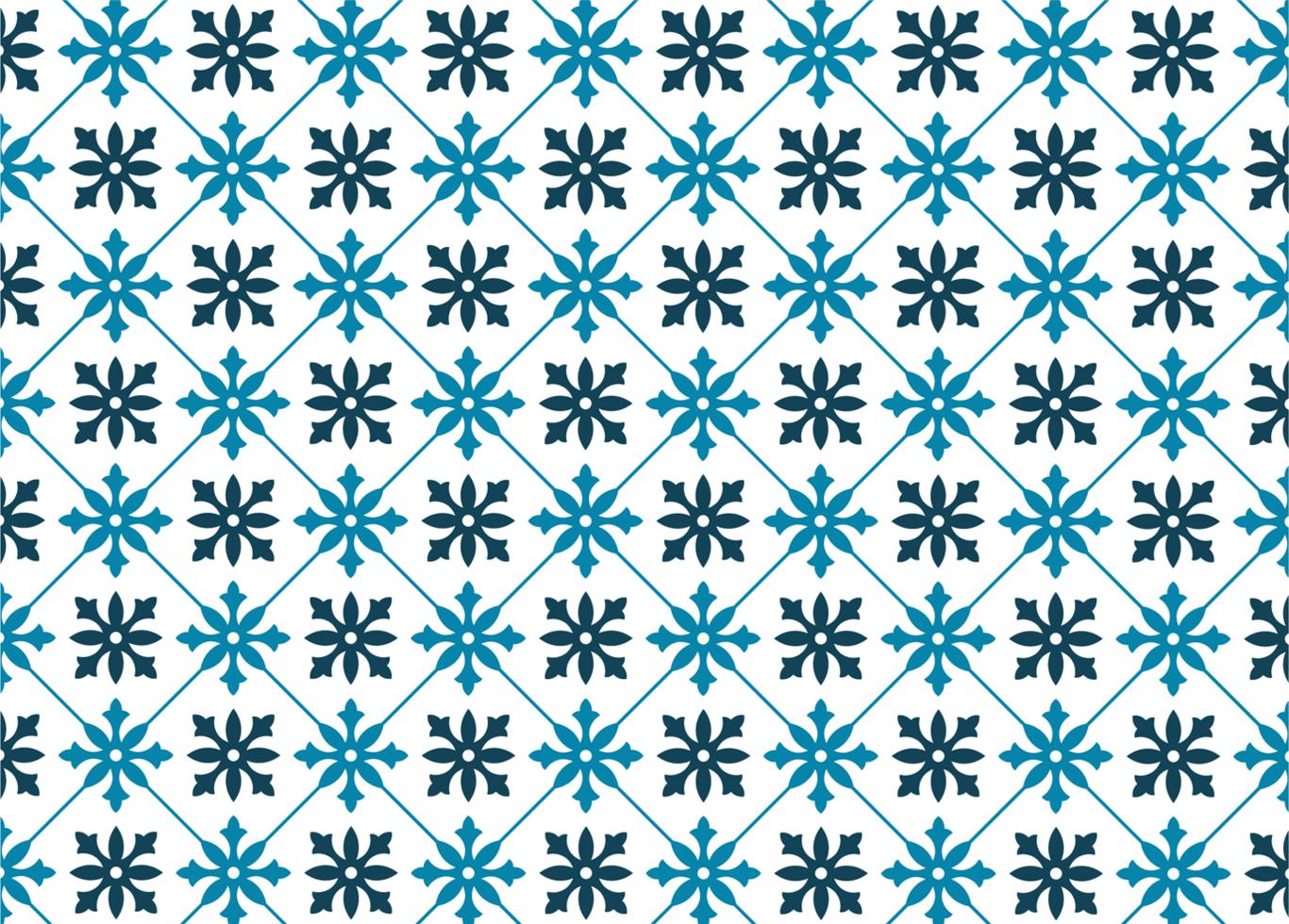 blaues Fliesenmuster vektor