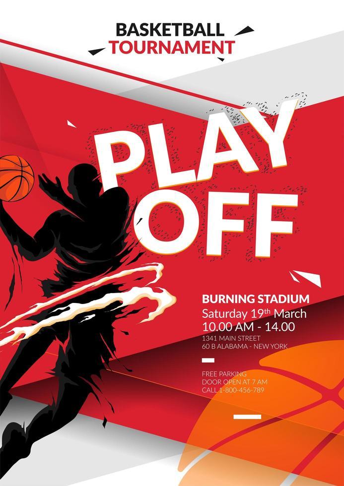 basket reklamblad formgivningsmall vektor