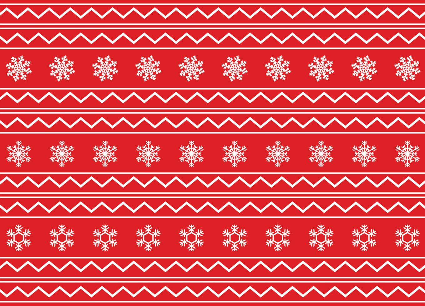 nahtloses Weihnachtsmuster vektor