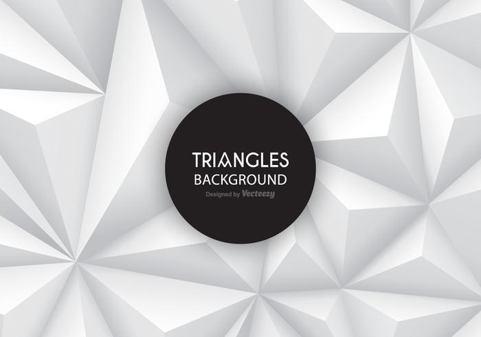 Grey Gradient Triangles Vektor Hintergrund
