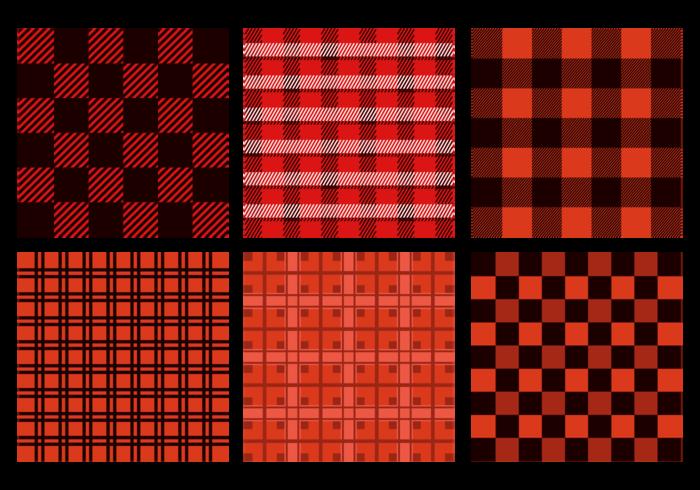 Seamless Flanell mönster vektor