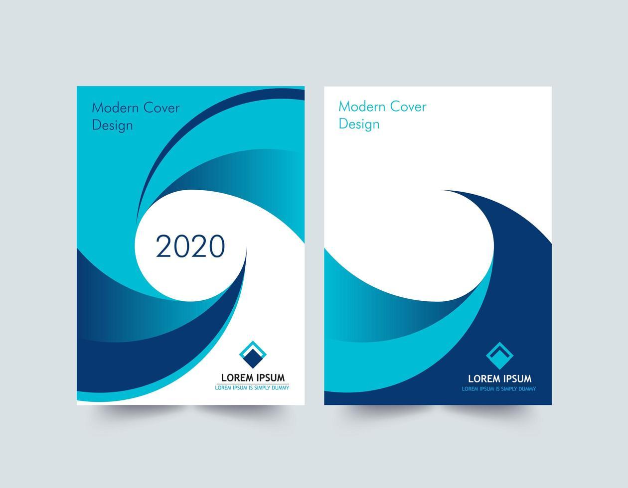 moderne Corporate Cover Design Vorlage vektor