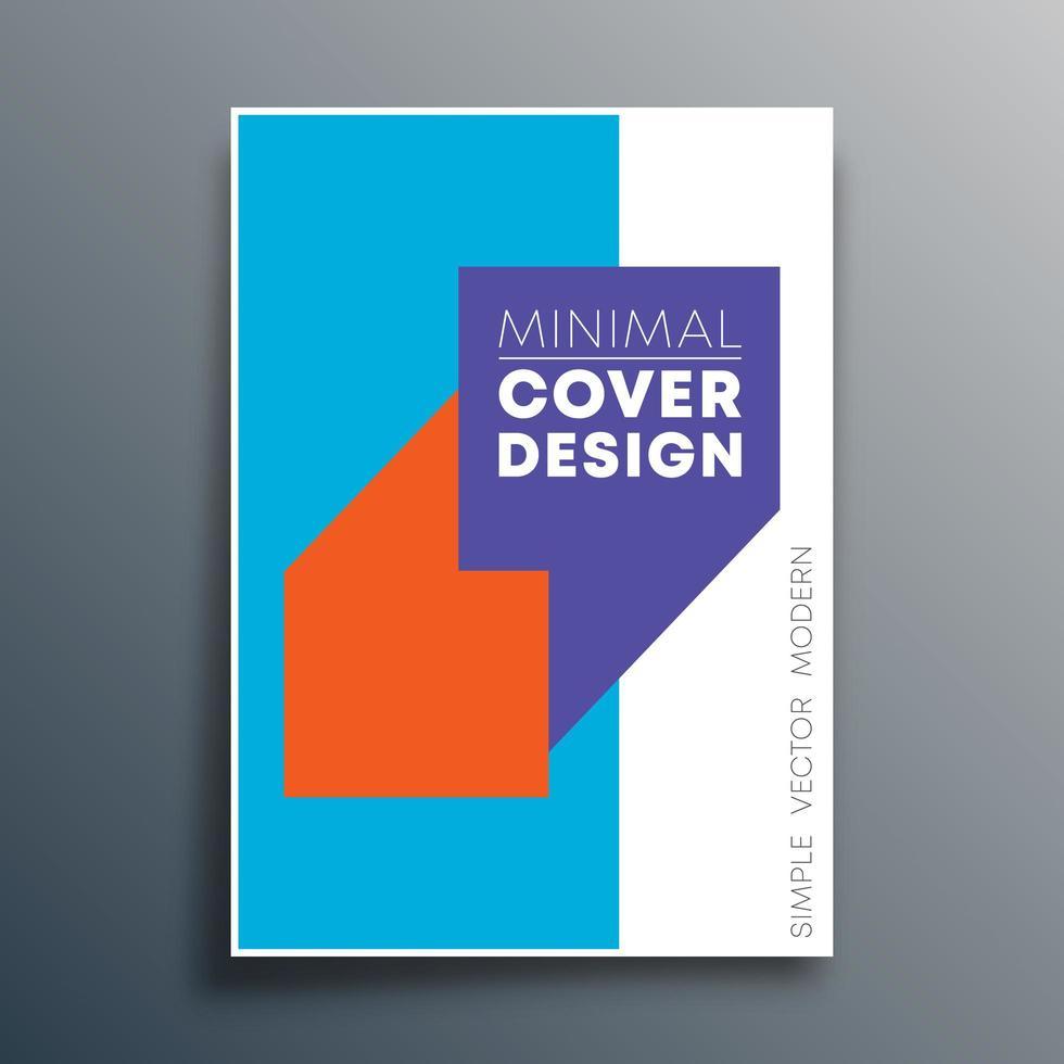 affischmall med citat komma design vektor