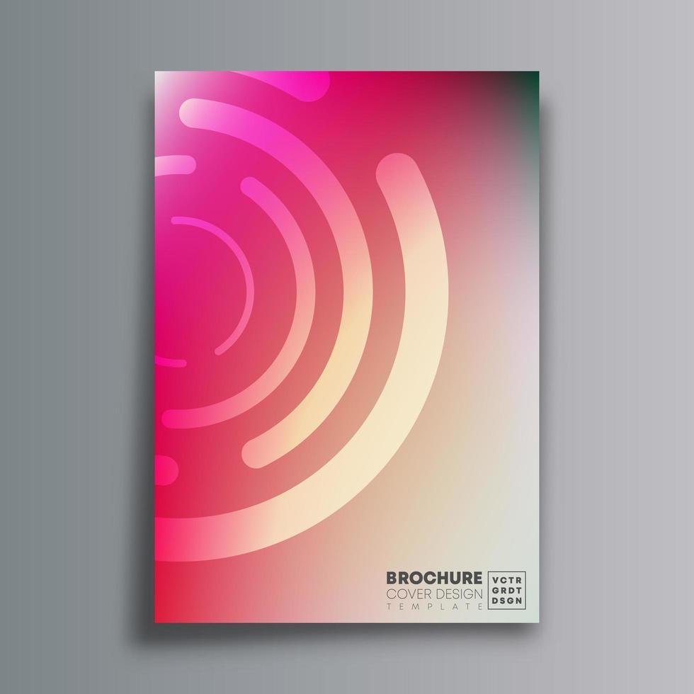 abstrakt design med cirkulära former och tonad konsistens vektor