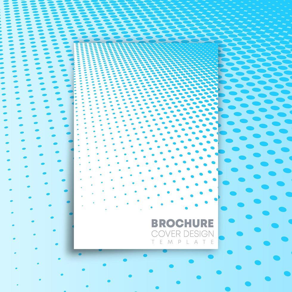 abstrakt bakgrund med halvtonmönsterdesign vektor