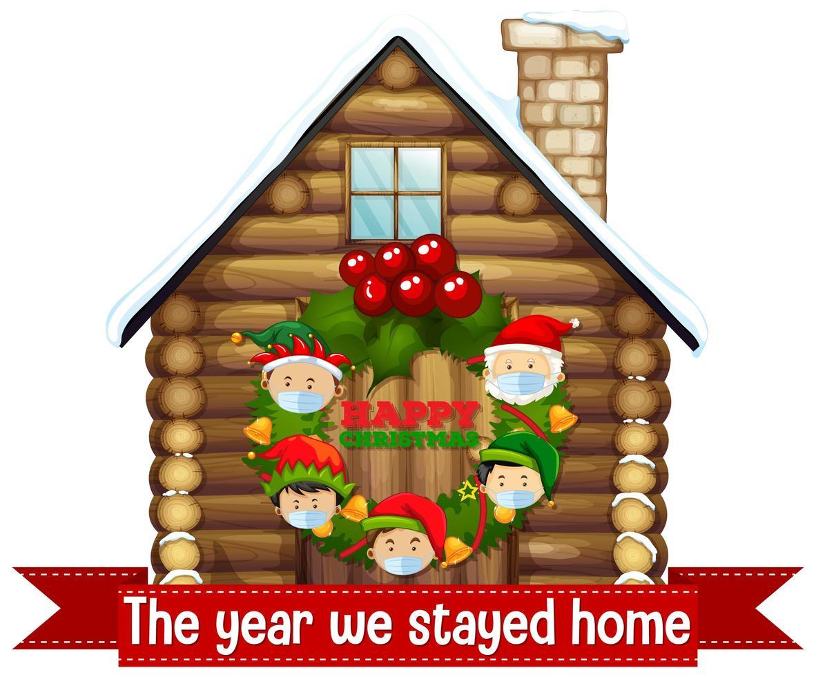 jul firar under covid vektor