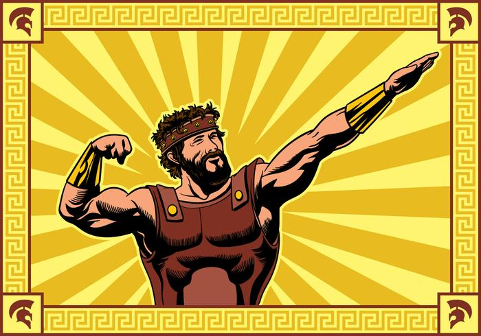 Hercules slår en pose vektor