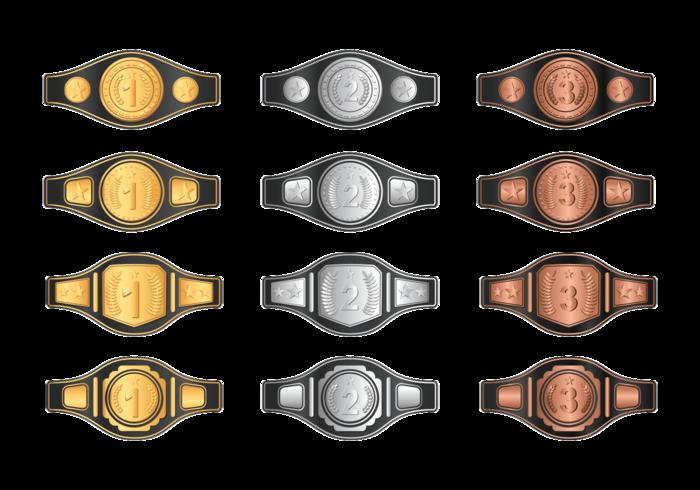 Champion Belt vektor