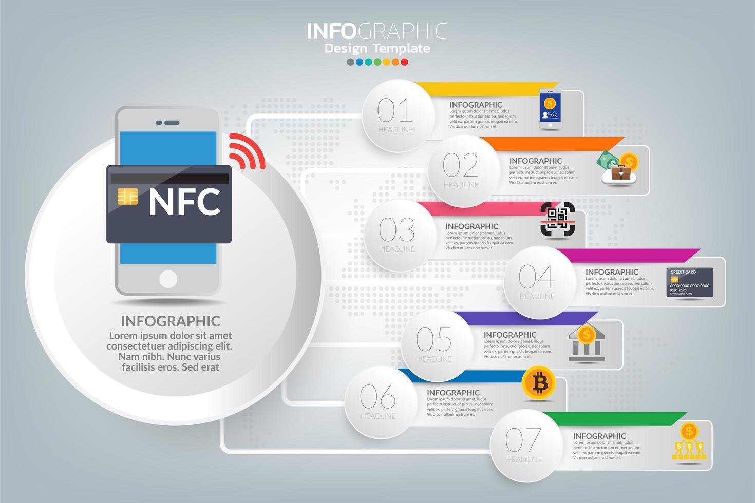 hur man lyckas affärer infographic vektor