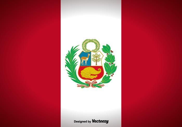 Peru sjunker Vector Bakgrund