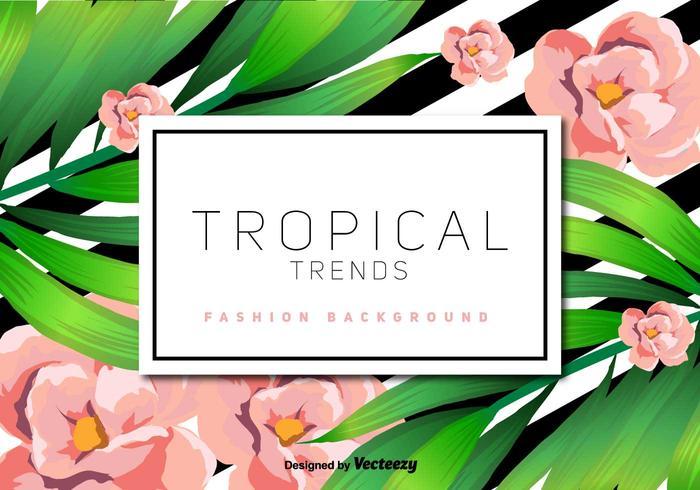 Tropical Vektor Hintergrund