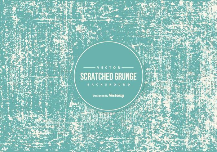 Blue Skrapat Grunge konsistens bakgrund vektor