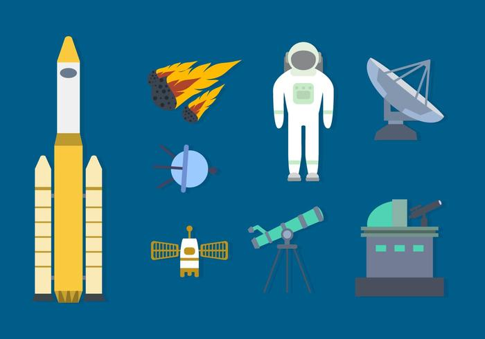 Free Space Vector Collection