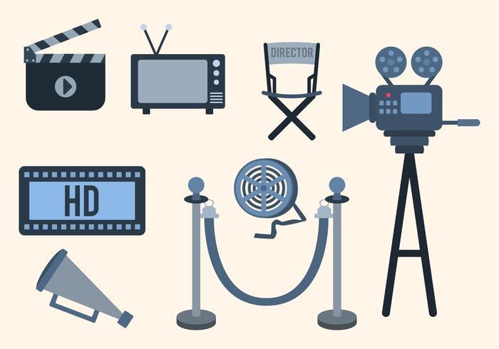 Free Cinema Vektor Sammlung