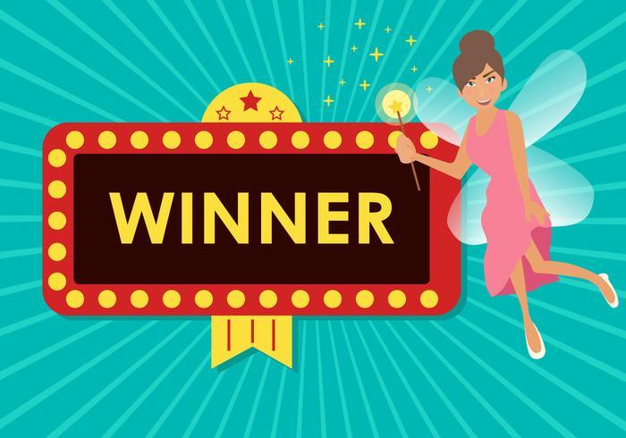 Fairy Winner Jackpot Vektor