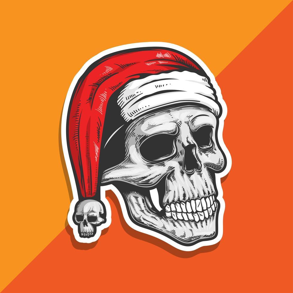 jultomten skalle vektor