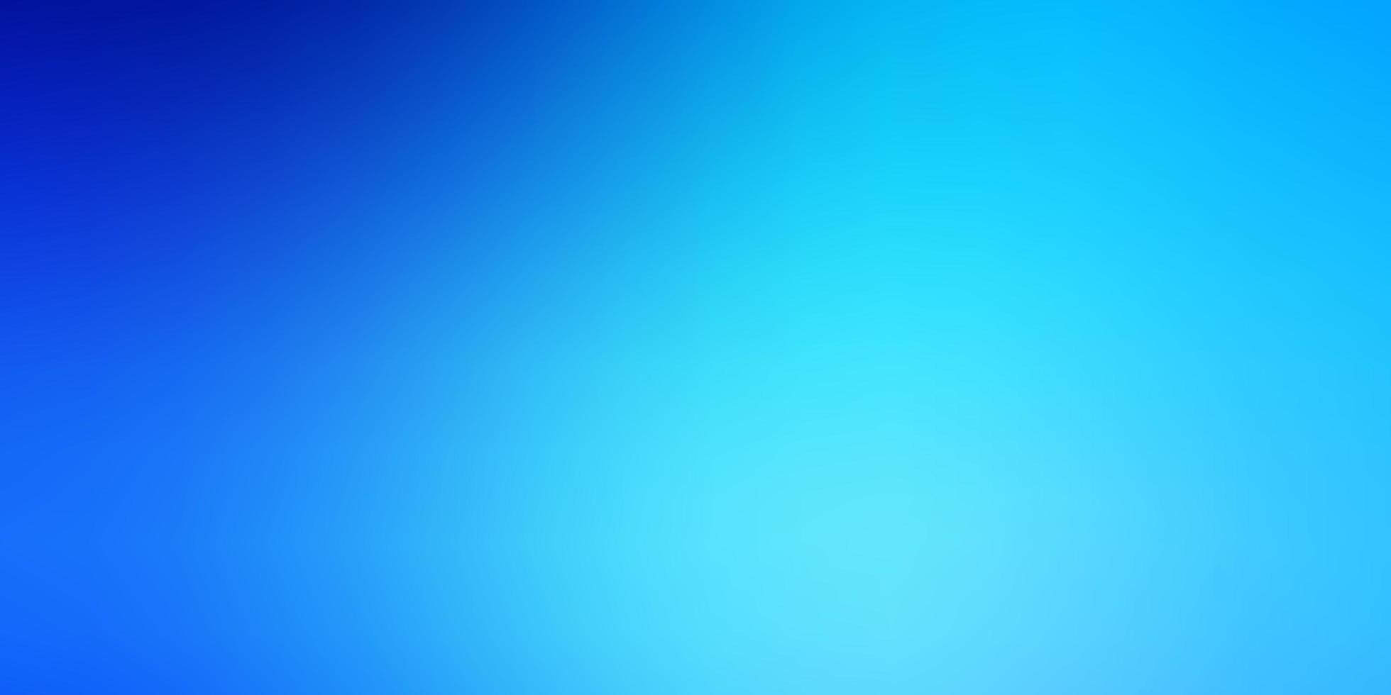 ljusblå färgglad oskärpa bakgrund. vektor