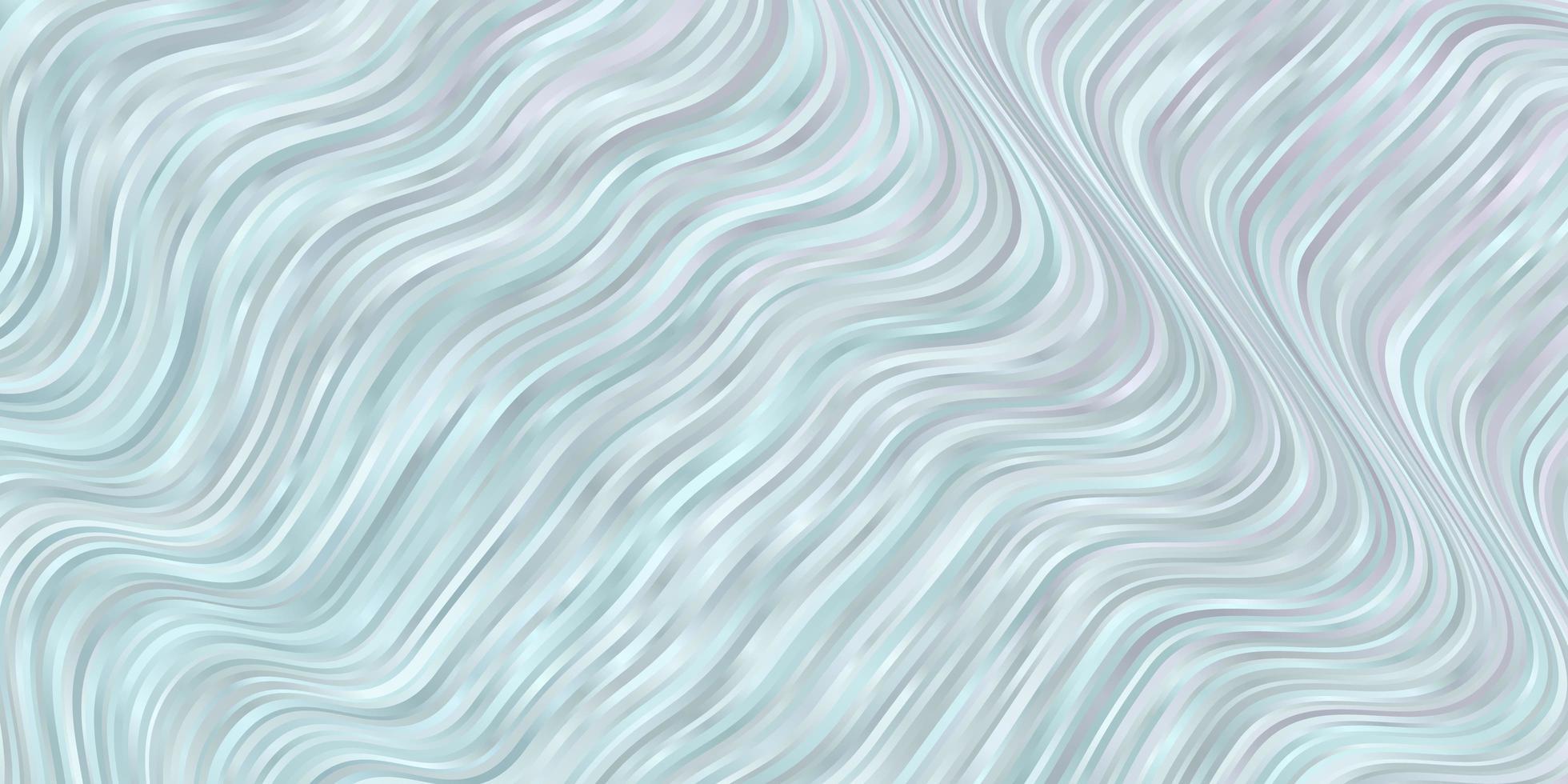 ljusblå bakgrund med böjda linjer. vektor