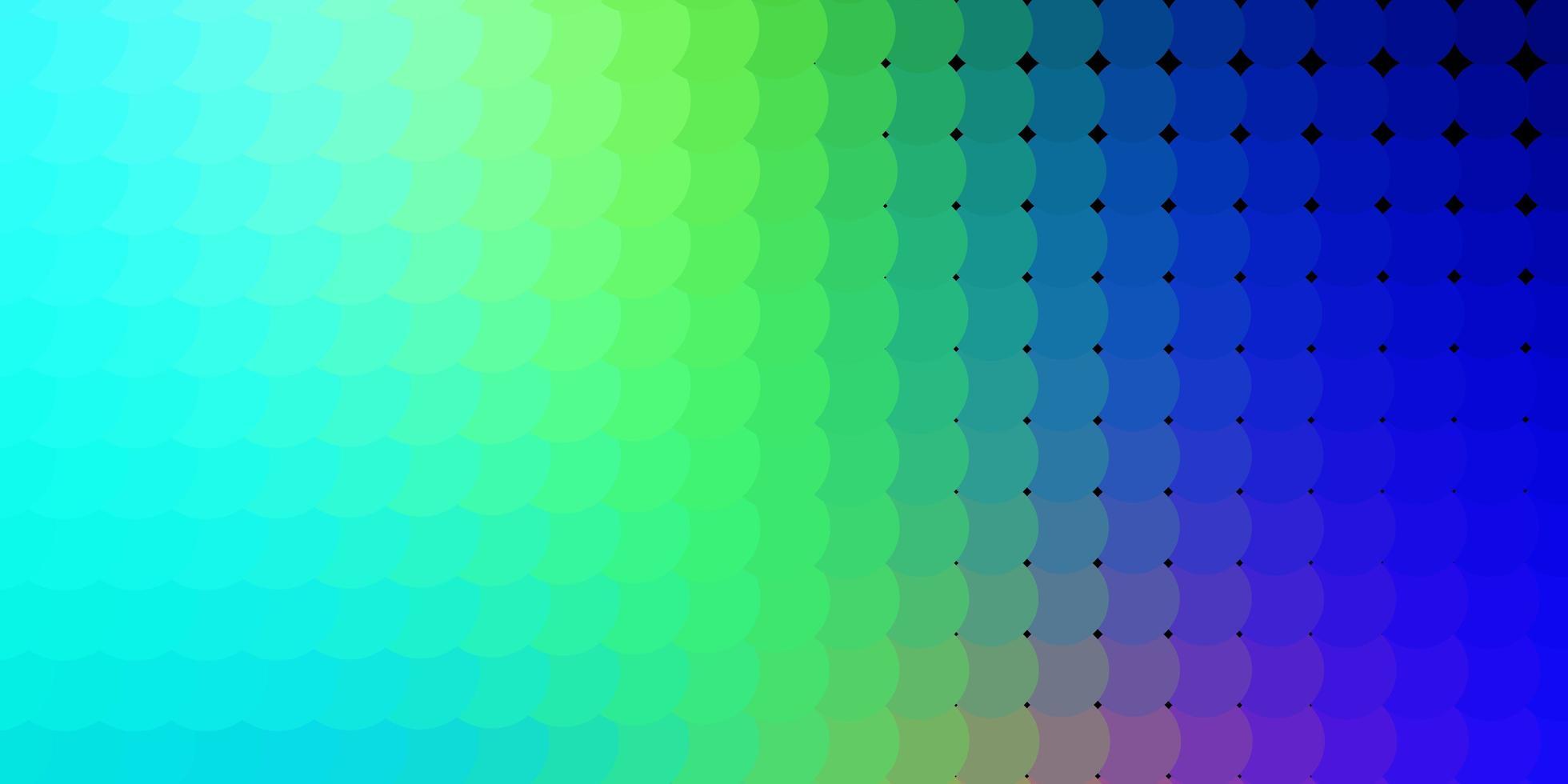 hellblaue und grüne Textur mit Kreisen. vektor