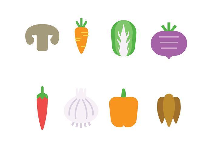 Gemüse Symbol Vektor