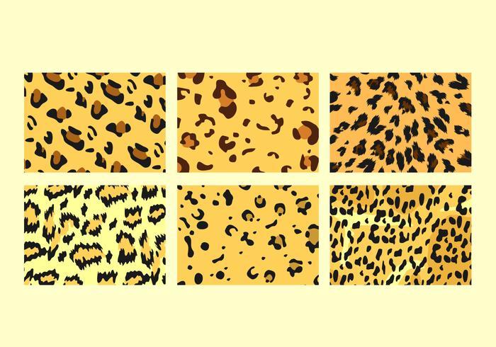 Fri leopardmönster vektorer