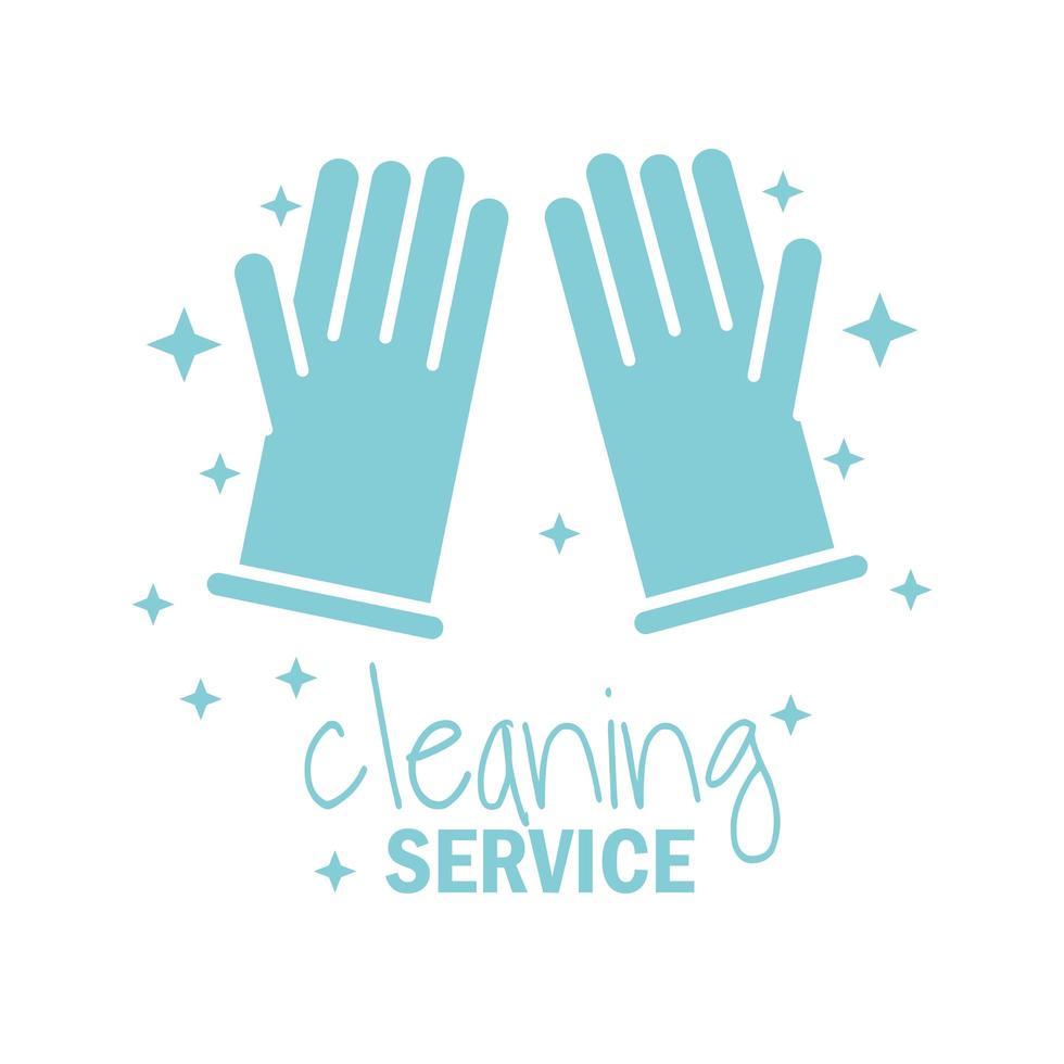 rengöring service ikon vektor