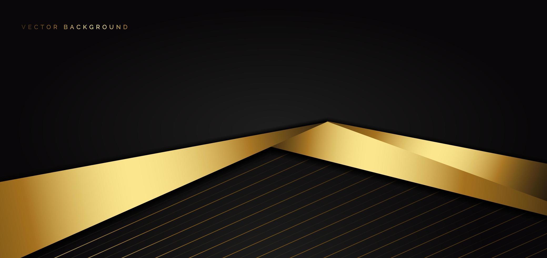 abstrakt mall med svart triangelbakgrund vektor
