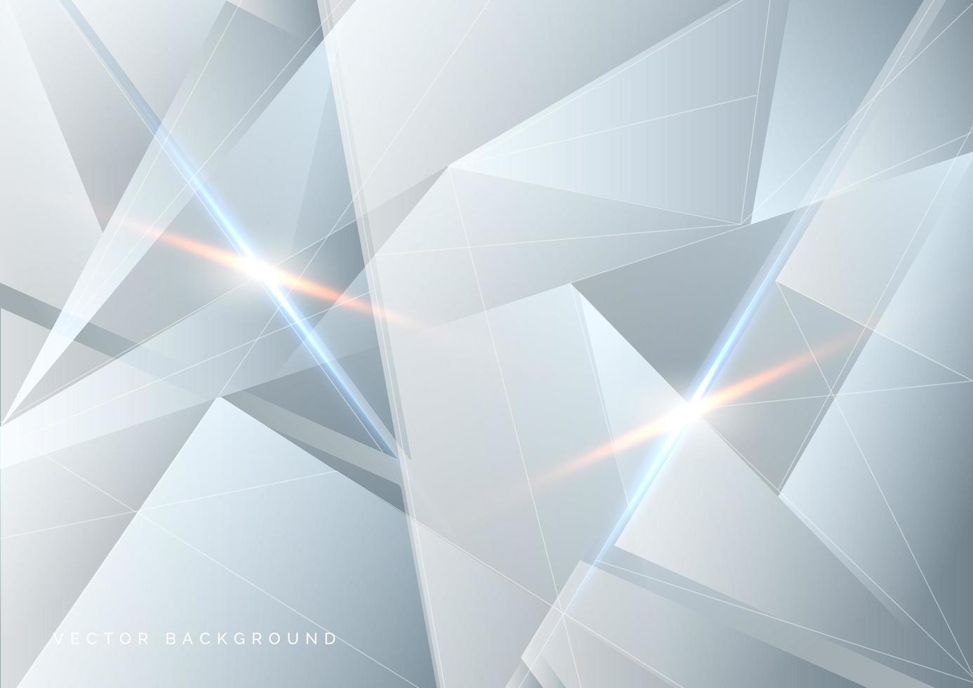 abstrakt vit och grå teknikbakgrund vektor